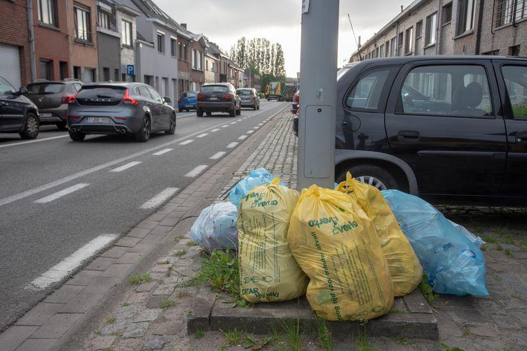 Het afval in Wetteren blijft misschien ook op dinsdag 2 oktober staan door een vakbondsactie in Brussel