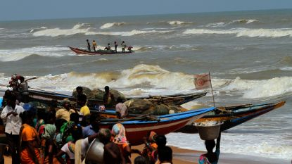 800.000 mensen geëvacueerd in India om naderende cycloon