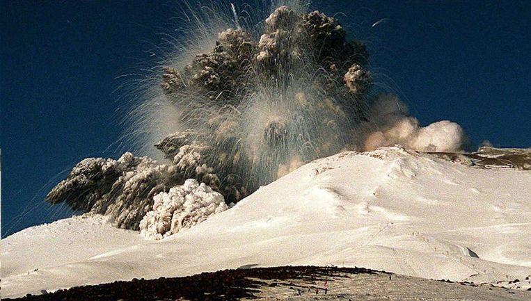 Een van de grootste uitbarstingen vond plaats in 1995.
