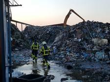 Brand in Varsseveld laait weer op
