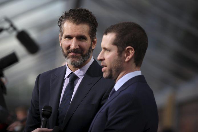 David Benioff et Dan Weiss, à San Francisco, en 2015