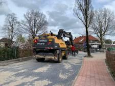 Ergernis in Baarschot over uitgelopen werkzaamheden, 'Dit kost mij veel omzet'