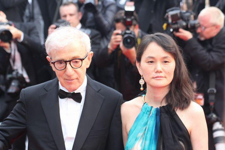 Woody Allen en zijn vrouw Soon-Yi.