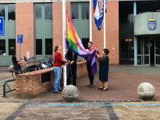 Regenboogvlag wappert ook namens Oisterwijk in Haaren