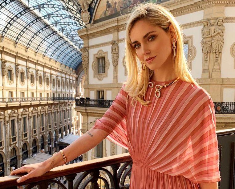 Chiara Ferragni is een van de bekendste influencers wereldwijd.