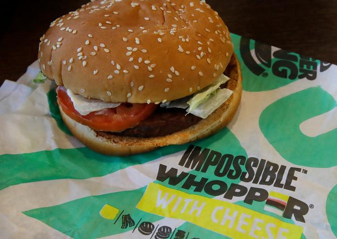 De Amerikaanse variant van de vegetarische Whopper.