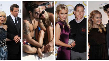 Drie verlovingen en een sekstape: het liefdesleven van Paris Hilton onder de loep