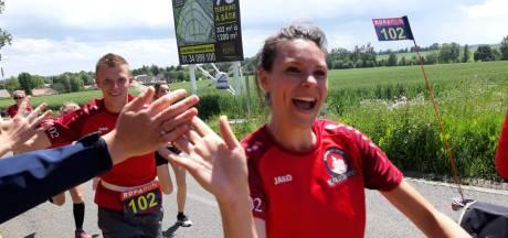 Sprundel-verdediger De Weert is pure kilometervreter: 65 kilometer in de Roparun en 120 minuten voetballen