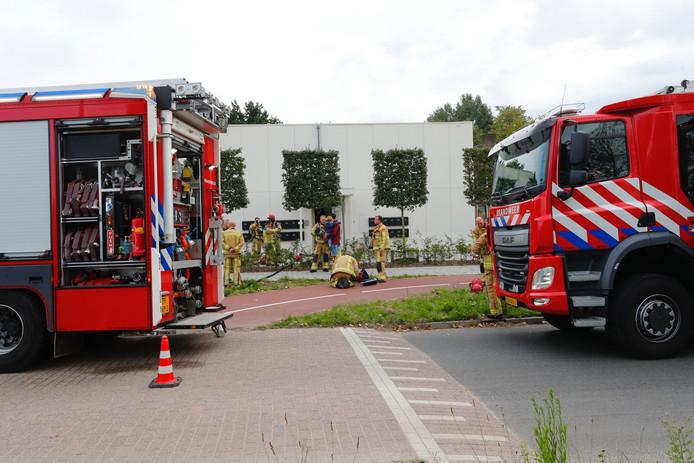 Brand bij woningcomplex Mallejan in Best.