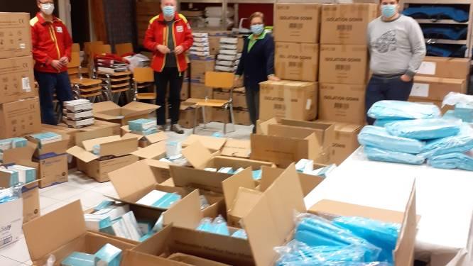 Rode Kruis opent verdeelpunt van beschermingsmiddelen voor zorgverleners