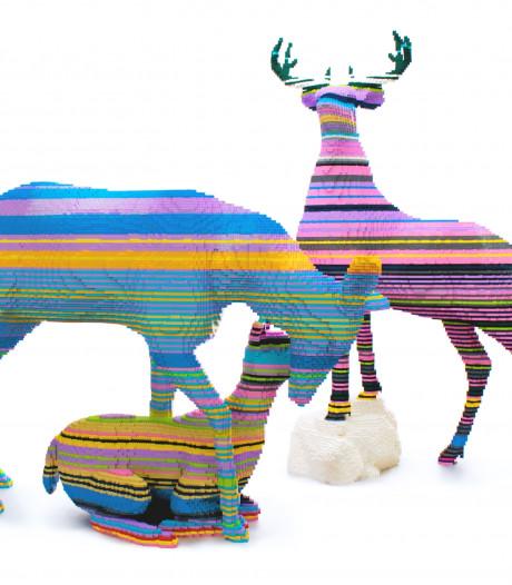 Nieuw in de Zoo: 44 dieren gemaakt van 800.000 Lego-blokjes