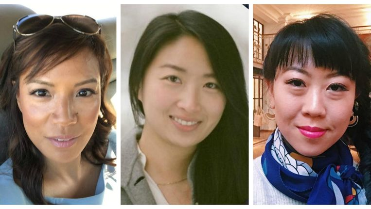Cecilia Pagkalinawan, Susan Ho en Leiti Hsu.