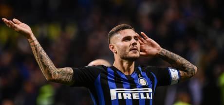 Icardi beslist Milanese derby in blessuretijd