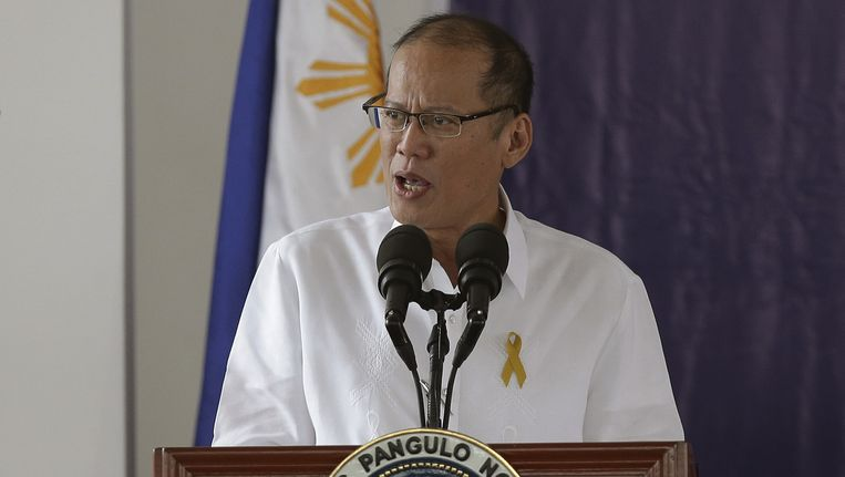 De Filipijnse president Benigno Aquino.