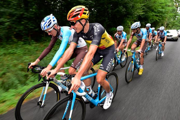 Oliver Naesen accompagnera Romain Bardet sur les routes du Tour pour la quatrième année consécutive.