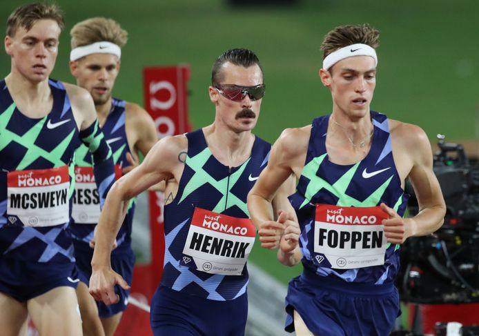 Mike Foppen (rechts op de foto).