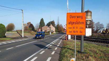 Drukke spooroverweg op Astridlaan gaat drie dagen dicht