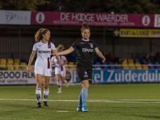 PEC Zwolle Vrouwen verspeelt de winst in Alkmaar