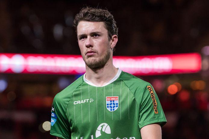 Speelt Thomas Lam komend seizoen weer voor PEC Zwolle? De optie in zijn contract is in ieder geval gelicht.