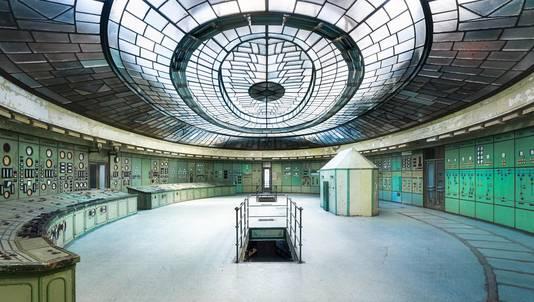 Een foto die Roman Robroek maakte in een voormalige energiecentrale