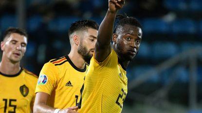 Bekijk hier de goals en hoogtepunten uit San Marino-België