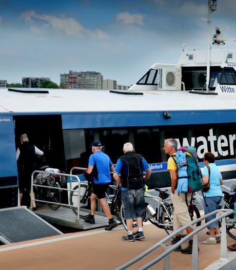 Passagiers waarderen de Waterbus met een dikke 8