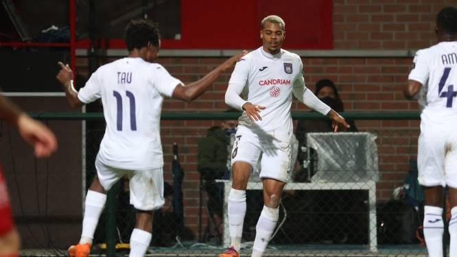Paars-wit houdt deze keer voorsprong vast: Nmecha en Tau bezorgen Anderlecht deugddoende zege bij Kortrijk