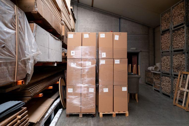 Een tweede vrachtwagen met spullen van S.O.S. Spanje Klein-Brabant vertrekt nu donderdag.