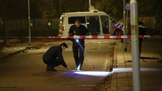 Politie-onderzoek na de liquidatie van Eaneas Lomp in Krommenie.