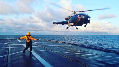 """Zelfs Belgische marine ontsnapt niet aan corona: 2 weken quarantaine na 5 weken op zee. """"Aan boord met 140 collega's, en dan zit je plots alleen"""""""