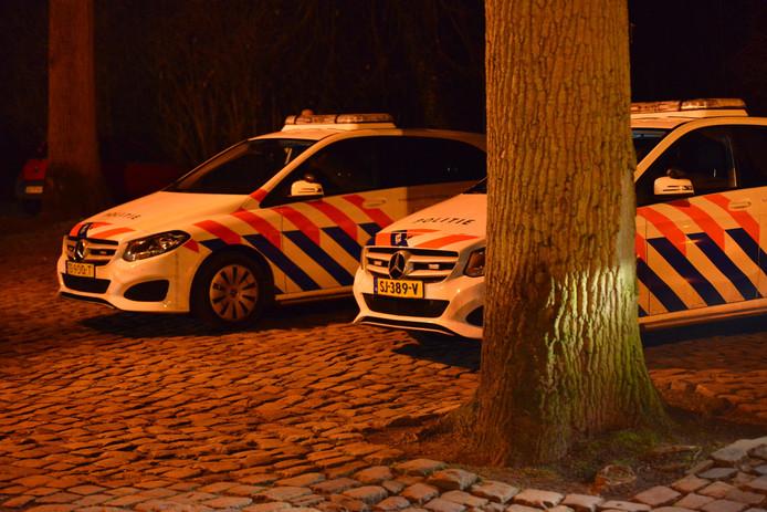 Incident in het Liesbos.