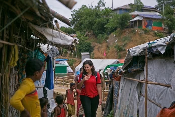 Het grootste vluchtelingenkamp ter wereld, Cox's Bazar in Bangladesh, is een verzameling krakkemikkige hutjes.
