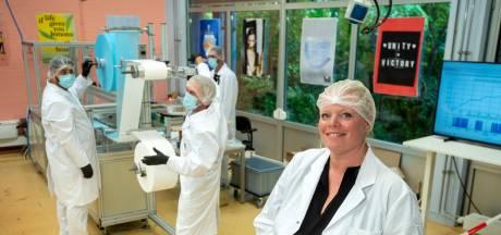 Arnhemse mondmaskerfabriek wacht op groen licht voor productie voor de zorg