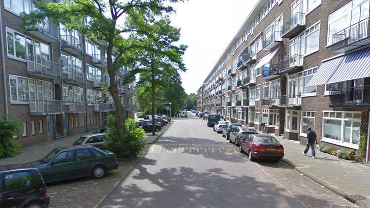 De Egidiusstraat. Beeld Streetview