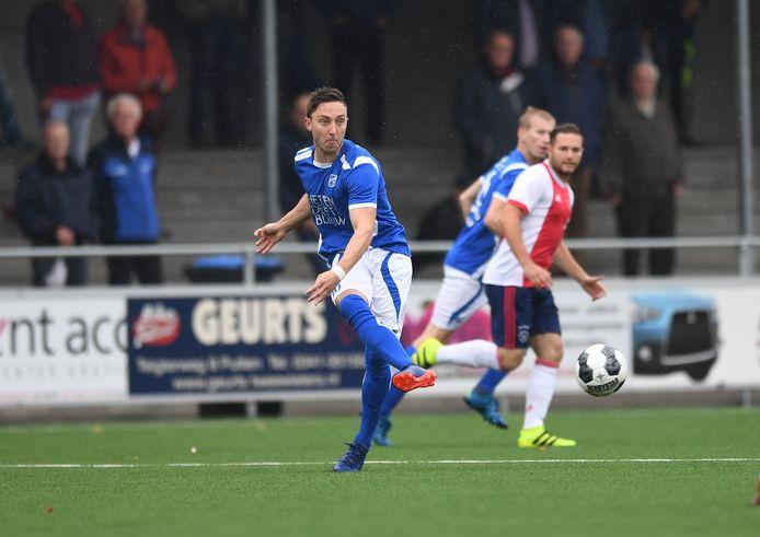 Beeld uit de wedstrijd van SDC Putten tegen Ajax in 2017.