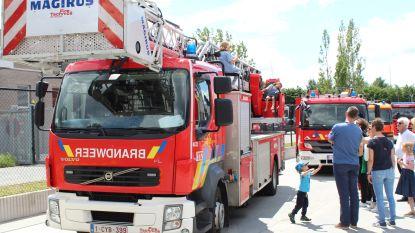 Opendeurdag brandweer Melle groot succes
