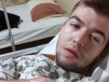 Helmonder Joey (21) verbijsterd na appje: 'Was ik de eerste doodzieke Nederlander met corona?'