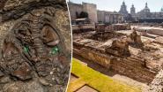 Archeologen stoten op schat in Mexico en denken dat ze allereerste graftombe Azteekse keizer op spoor zijn