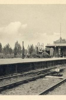 Harmelen had ooit een treinstation dat de inspiratie was voor 3 andere stations in het land