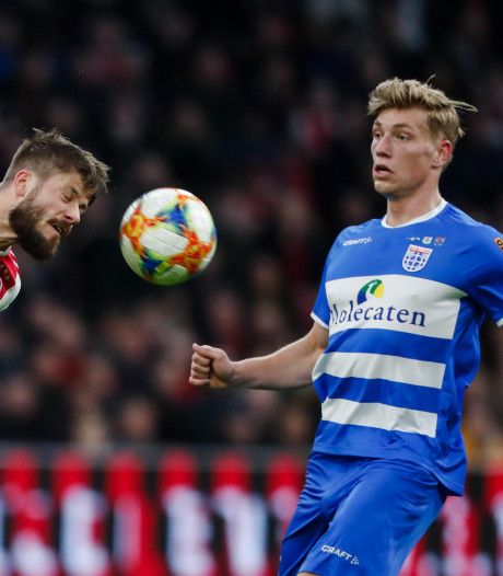 Wisselspelers van PEC Zwolle doen ritme op tegen De Graafschap