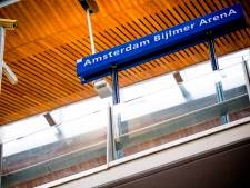 Gewonde door steekpartij op station Bijlmer Arena, verdachte opgepakt