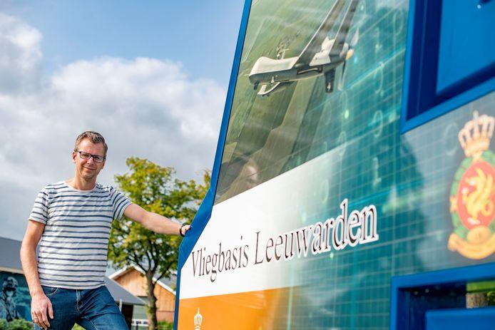 Wim de Bruin was predikant in Zutphen. Sinds deze week is hij krijgsmachtpredikant met standplaats Leeuwarden.