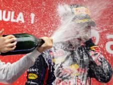 Vettel et Red Bull à l'amende pour la célébration du titre