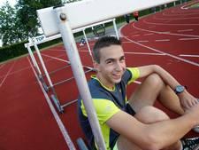 Nijmeegse hordenloper Elevelt zevende tijdens NK Atletiek in Utrecht