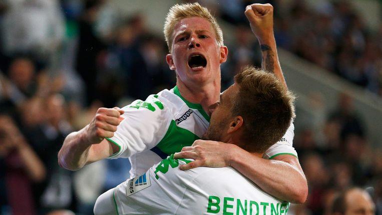 Kevin De Bruyne won enkele weken geleden nog de Duitse supercup tegen Bayern München