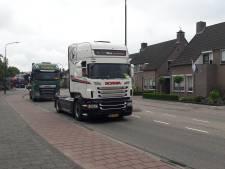 Veerse Truckrun met ruim honderd trucks: 'Volgend jaar graag weer over Keizersdijk'