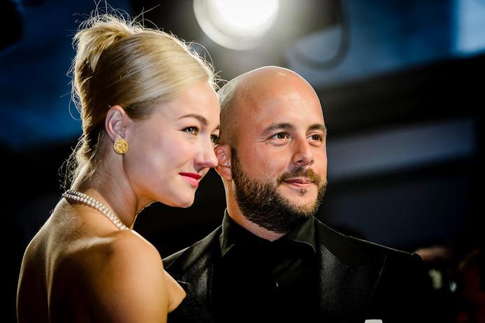 Carolien Spoor en haar man Jon Karthaus.