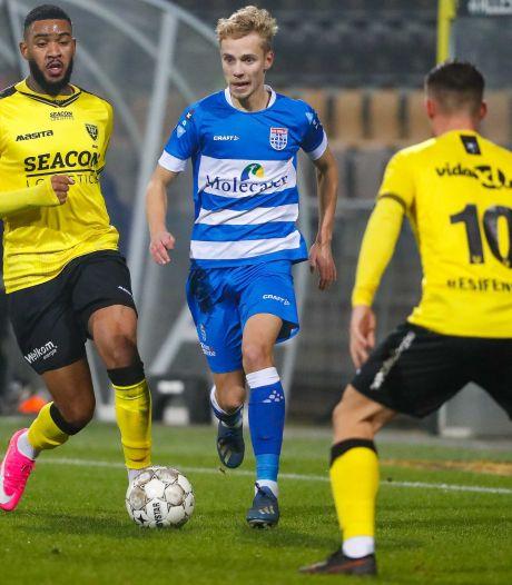 Zwolle legt opnieuw talent langer vast