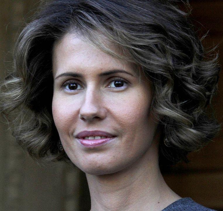 Archieffoto van Asma al-Assad Beeld
