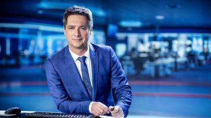 """Stef Wauters zet zich schrap voor de grootste live-operatie ooit bij de vtm-nieuwsdienst: """"Naar het toilet hollen en tussendoor een banaan eten"""""""